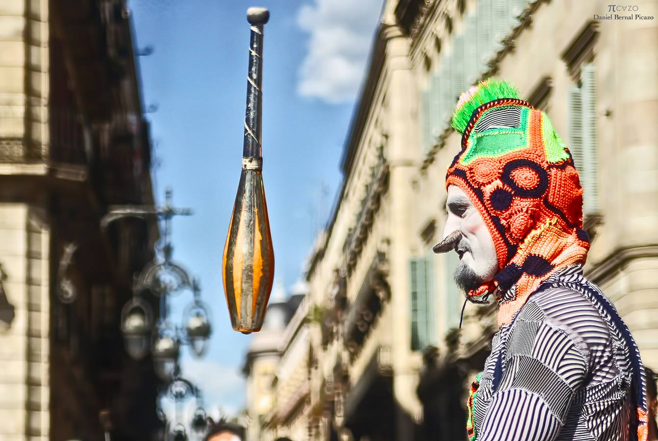Clown: Karcocha. Foto: Daniel Bernal Picazo
